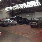 Car Garage in Calderstones