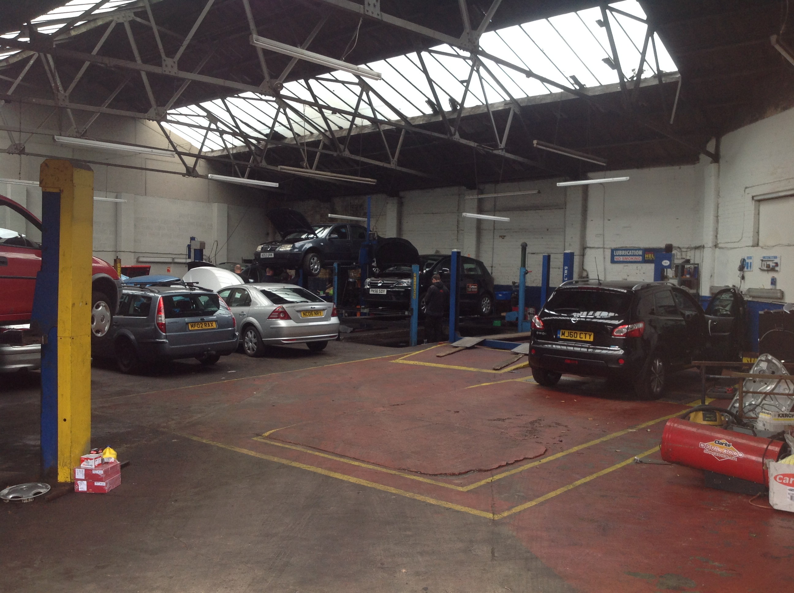 DPF Faults in Liverpool